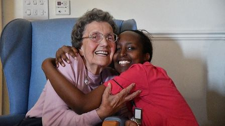 Howard Lodge day centre is a warm, friendly environment for the elderly to meet and socialise with s