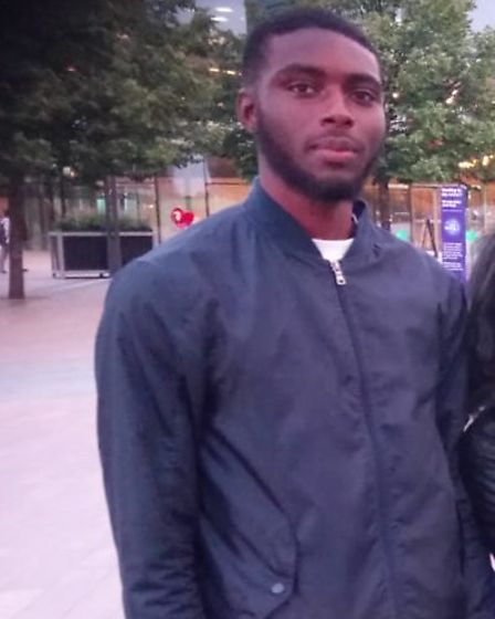 Che Morrison was the victim of stabbing outside Ilford Station. Picture: Met Police