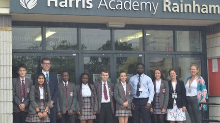Harris Academy Rainham has been graded Good by Ofsted inspectors. Picture: Harris Foundation