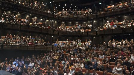 Redbridge Council is inspired by the inside of Bridge Theatre: Picture: HaworthTompkins