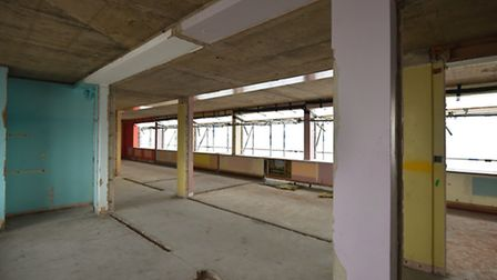 The refurbishment of Clapham House, which is being renovated by Kingsley Healthcare before it become