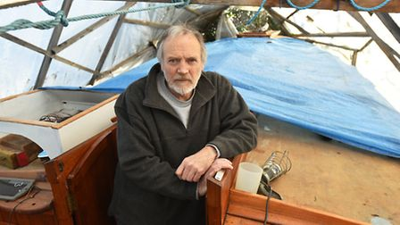 John Griffiths is nearing the completion of a long term project to restore a 1937 yacht built by Bro