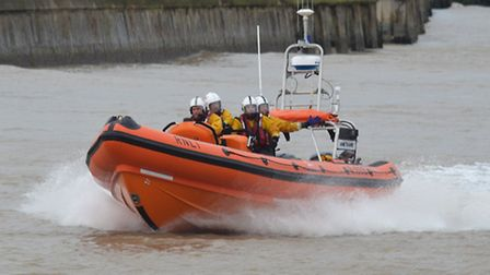 The Southwold RNLI lifeboat. Picture: Mick Howes