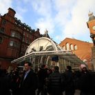 The new-look Liverpool Street Station was inaugurated by the Queen in 1991. Picture: Isabel Infantes
