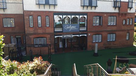 The Gallions Hotel and Galyons Bar and Kitchen, Corbyn Ltd's head office where Mr Stanic was working
