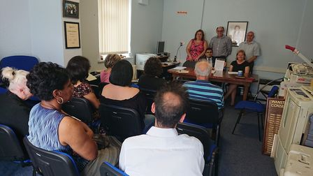Residents attended Barkingside Action Team's meeting and Gants Hill hub came up on the agenda. Pictu