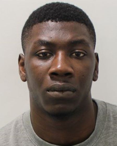 Florent Okende has been jailed for 23 years for the murder of Che Morrison. Picture: Met Police