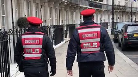 More and more neighbourhoods are paying for their own security patrols.Picture: My Local Bobby