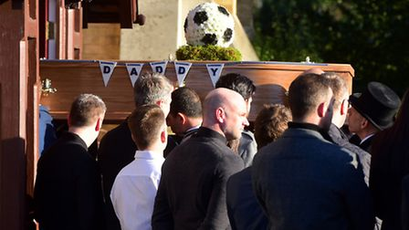 The funeral of Darren Boyd took place at St Mark's Church in Oulton Broad. PHOTO: Nick Butcher
