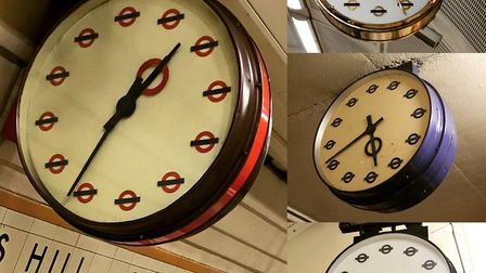 What the clocks will look like. Picture: Chadwell Heath South Residents' Association
