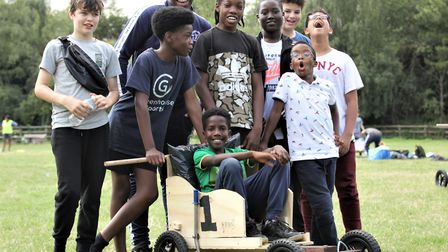 'Best teamwork' title goes to the crew from Newham's Terence Brown Arc. Picture: London Play