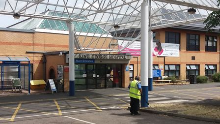Plans have been submitted for a new food offering at the hospital. Picture: Ken Mears