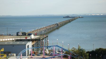 Southend Pier played an important role in the Second World War. Picture: Dammmmian at en.wikipedia/w