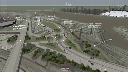 The tunnel is due to be completed by 2025. Picture: TfL