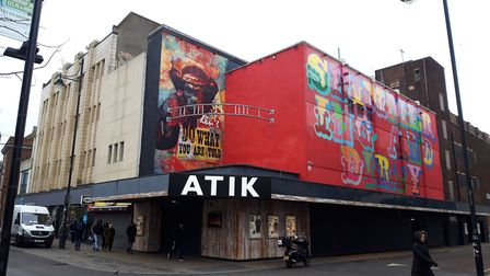 A man in his 20s was found with stab injuries outside Atik nightclub in Romford. Picture: Ken Mears