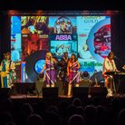 Gimme Abba will be performing at Brookside Theatre this weekend. Picture: DG Wedding Photography Ltd