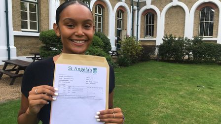 Melanie Hilaire has secured her place at Leeds University after scooping an A*, A and B in sociology