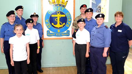 The Lowestoft Sea Cadets are hosting an open evening. Picture: MICK HOWES
