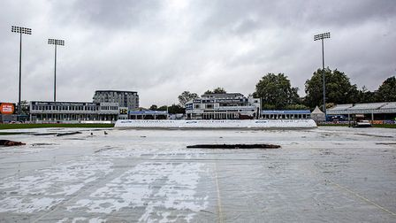 General view of the ground and the raincovers (pic Nick Wood/TGS Photo)
