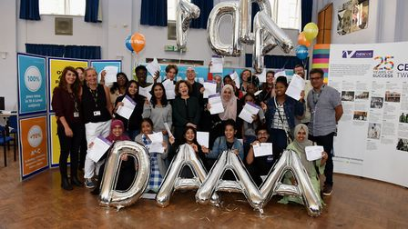 NewVIc sixth form in Plaistow is celebrating this year's results which saw an overall A-level pass r