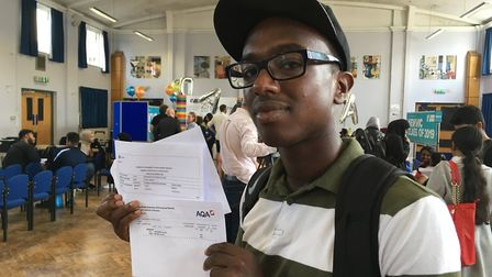 Shaun Lowe is off to the School of Oriental and African Studies (SOAS) to study history and world ph