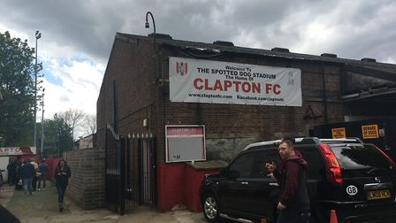 The Old Spotted Dog ground in Forest Gate (Pic: Jacob Ranson)