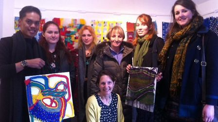 THe Decorative Square art exhibition. Pictures: SUPPLIED