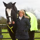 Sarah Hills is one of the latest special recruits for the Police Horseback division. She will be pat