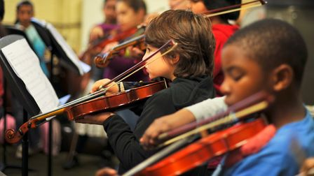 Music creates a positive, vibrant culture for young people in schools and communities. Photo Credit
