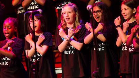 In the past year Newham Music ensembles have performed at the Theatre Royal Stratford East, City Hal