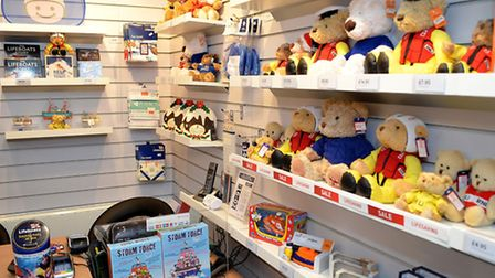 The new layout inside the RNLI Lowestoft Lifeboat shop. Picture: MICK HOWES