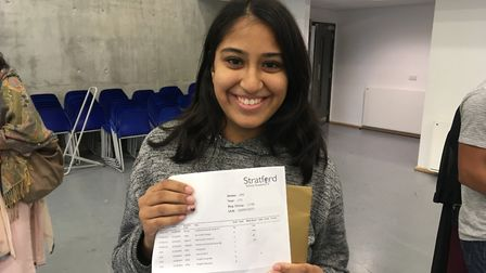 Aarti is looking forward to going to City and Islington College to study animal management. Picture: