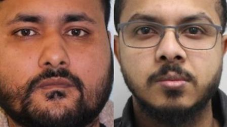Niaz Mohammad and Afiqur Chowdhury. Pictures: Met Police