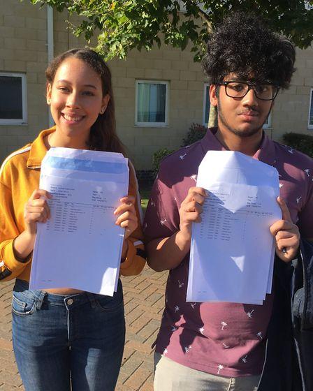 East Ham resident Chloe Wills earned six 9s and five 8s, while Irvin Golder from Canning town achiev