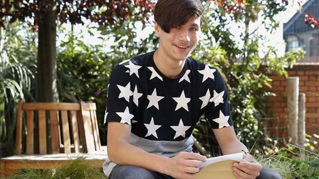 Andrei Macsim has earned a scholarship to study at City of London. Picture: Arthur Comms