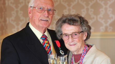 George and Phyllis Nutburn celebrated their 70th wedding anniversary. PHOTO: Nick Butcher