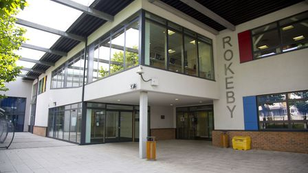 Rokeby School in Canning Town. Picture: Ellie Hoskins