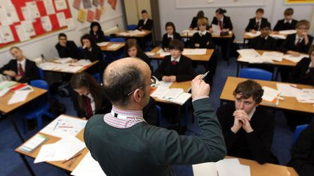 Students and families are being encouraged to thank their teachers this GCSE results day. Picture: D