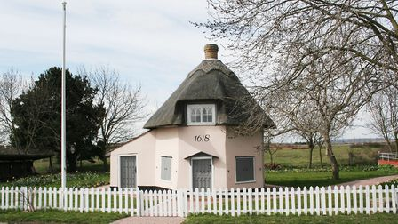One of the old Dutch cottages which serves as a reminder of Canvey Island's heritage. Picture: Onebl