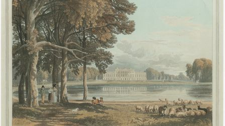 A depiction of Wanstead House as it was before it was demolished in 1824. Picture: Geraldine Roberts