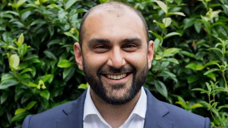 Bilal Mahmood is challenging council leader Jas Athwal to become Ilford South's next MP. Picture: Bi
