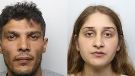 Nicolae Dragomir and Violeta Petre have been jailed after they were caught by police pickpocketing i
