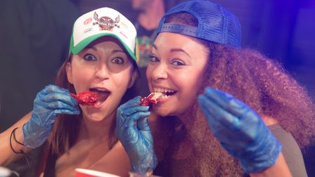 Sink your teeth into the tastiest chicken wings the UK has to offer at Wing Fest. Picture: Queen Eli