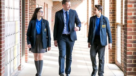 Principal, Mr. Darren Luckhurst will welcome parents and pupils to the open evening with his speech