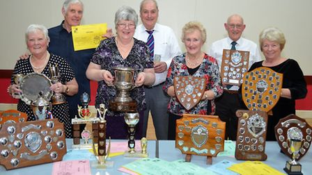 TOASTING SUCCESS: The Lowestoft & District Amateur Winemakers Circle held their annual presentation