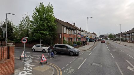 A man was stabbed in at the juction with Chadwell Heath High Road last night. Picture: Google Maps