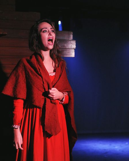 Laura Denmar as Nancy in Brookside Theatre's musical Oliver. Picture: Ted Sepple