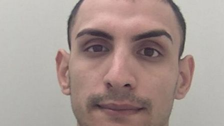 Stefan Balaceanu, from Ilford, was jailed for three years after he committed a string of thefts. Pic