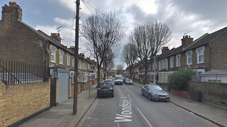 A fire has destroyed three sheds in Woodside Road, Plaistow. Picture: Google