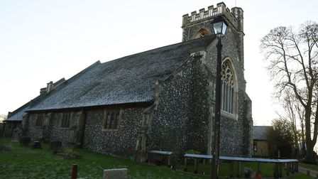When St Johns church was rebuilt in 1876-77, the wealthiest residents contributed over �5,000. Just